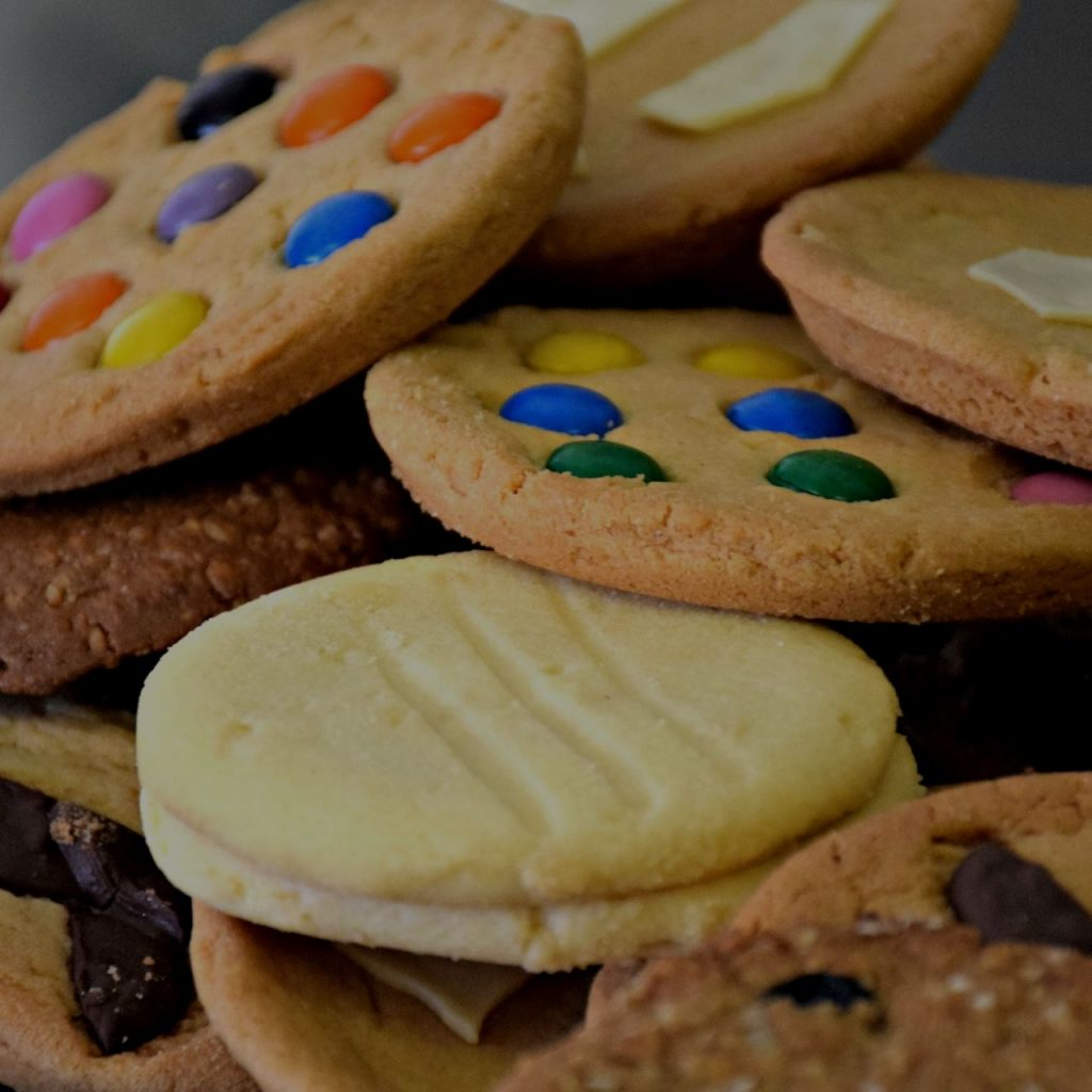 assorted cafe cookies