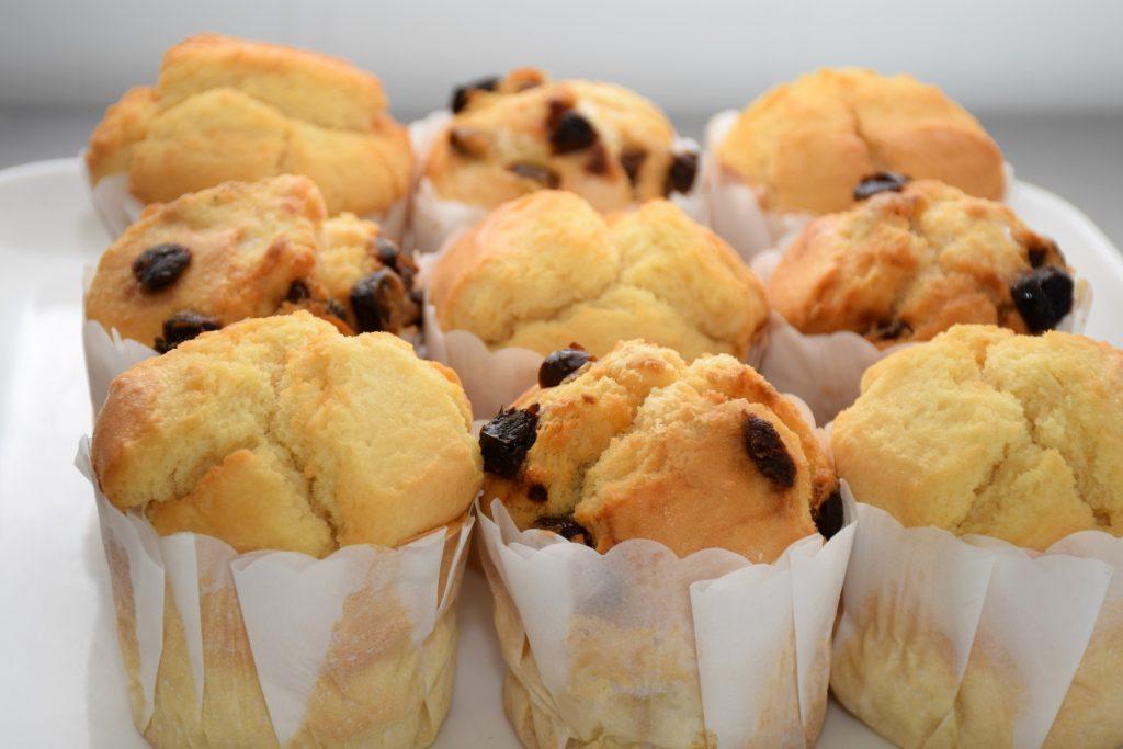 plain & date scones