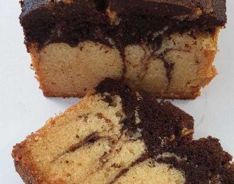 Chocolate and Orange Marble Loaf (GF)
