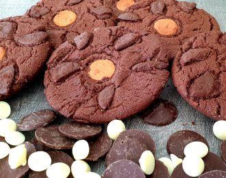 Dutch Triple Choc Cookies